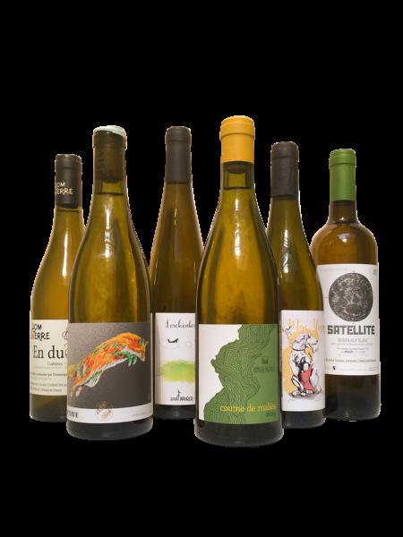 pack découverte vins naturels blancs