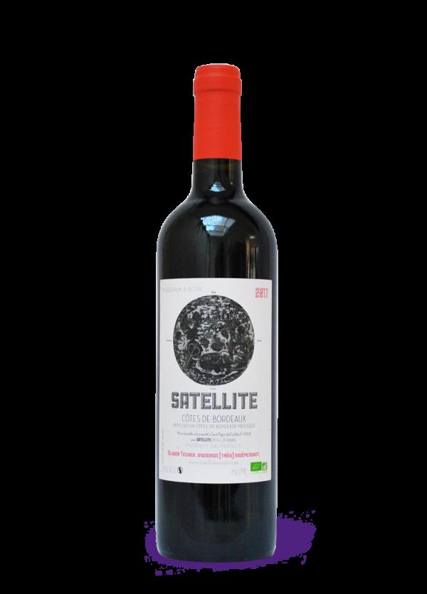 satellite cotes de bordeaux rouge 2017