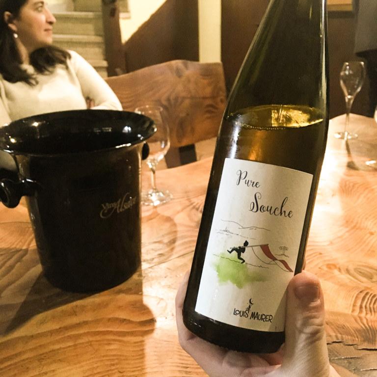 Louis Maurer, Alsace, vin vivant, vin libre, en agriculture biologique, pinot noir, pinot gris, gewurztraminer